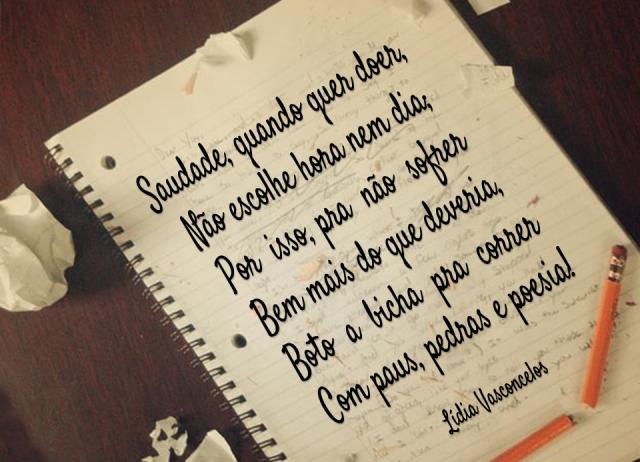 Poema - saudade