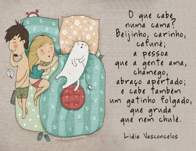 poema - O que cabe numa cama
